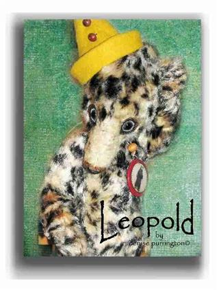 Leopold by Award Winning One Of A Kind Handmade Mohair Teddy Bear Artist Denise Purrington of Out of The Forest Bears