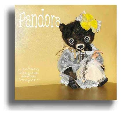 Pandora  - Handmade Teddy Bears, Mohair Teddy Bears, Artist Teddy Bears by Award Winning Artist Denise Purrington