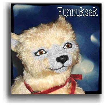 Tunnuksak  - Handmade Teddy Bears, Mohair Teddy Bears, Artist Teddy Bears by Award Winning Artist Denise Purrington