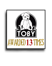 TOBY Award Winning Handmade Mohair Teddy Bear Artist Denise Purrington