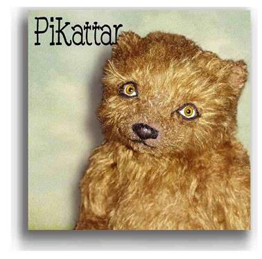 Pikattar by Award Winning One Of A Kind Handmade Mohair Teddy Bear Artist Denise Purrington of Out of The Forest Bears